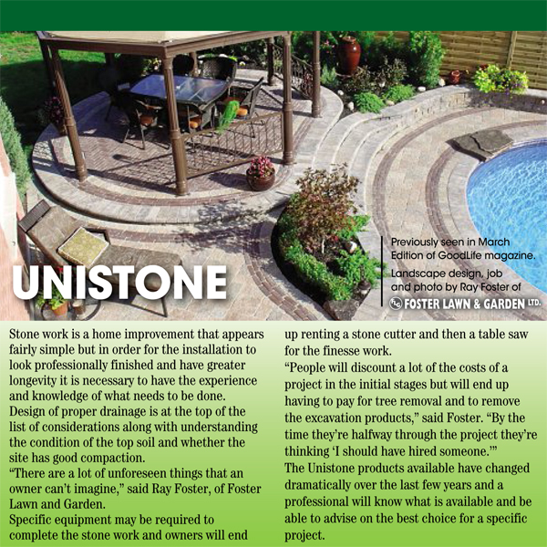 Unistone Article