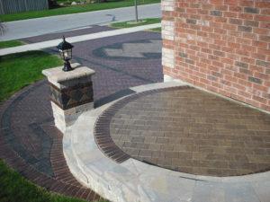 interlock driveway and patio