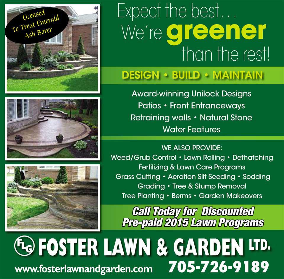 Foster Lawn & Garden Flyer